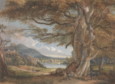 Bridgenorth, Shropshire, England, c.1801, Watercolor on Paper