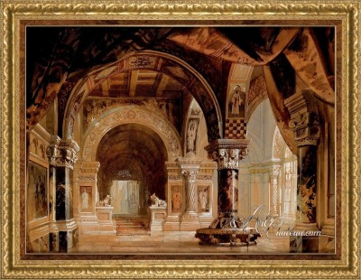 Classical Italian Interiors, after Georg Janny