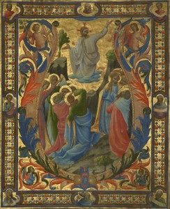 The Ascension, c.1434, Tempera and Gold on Parchment