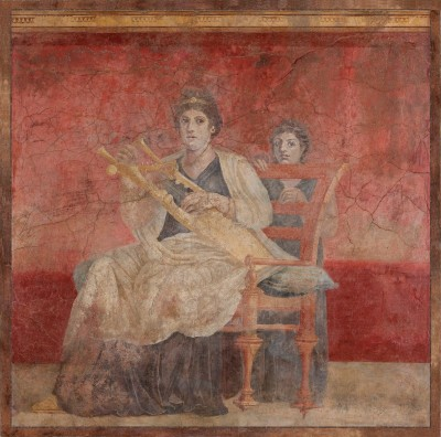 Fresco from the Villa of P. Fannius Synistor at Boscoreale, c.50–40 B.C., Wall Fresco