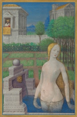 Bathsheba Bathing, c.1498, Tempera and gold on parchment
