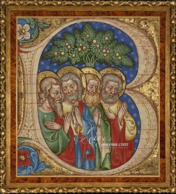 15th Century Illumination, after the Olivetan Master