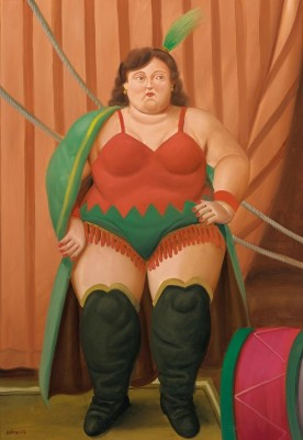 Circus Woman, c.2007, Oil on Canvas
