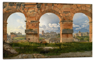 A View Through the Third Level of the Coliseum, Rome, c.1815, Oil on Canvas