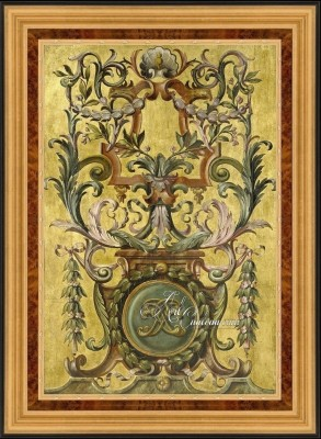 Classical French Chateau Panel, 17th Century Style