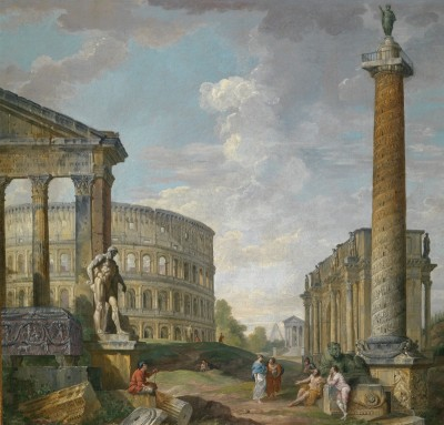 Gallery of Views of Ancient Rome, c.1758, Oil on Canvas