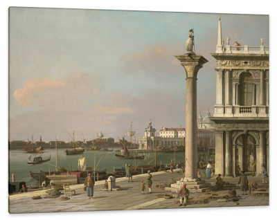 View of the San Marco Basin, Venice, From the Piazzetta, c.1750, Oil on Canvas