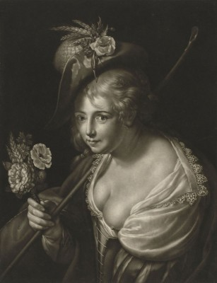 Helena Forman, wife of Peter Paul Rubens, c.1816, Engraving