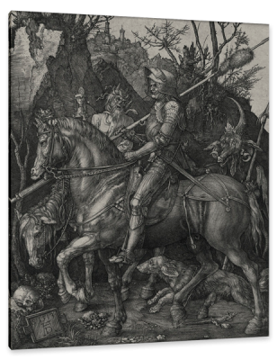 Knight, Death and the Devil, c.1510, Engraving