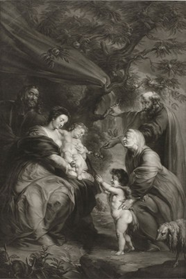 The Holy Family, c.1775, Engraving