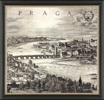 Prague, View of The Charles Bridge, after Anonymous Artist