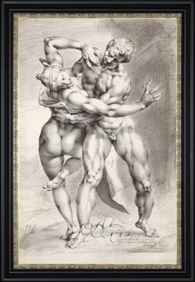 Dance of a Sabine Woman, after Jan Harmensz Muller