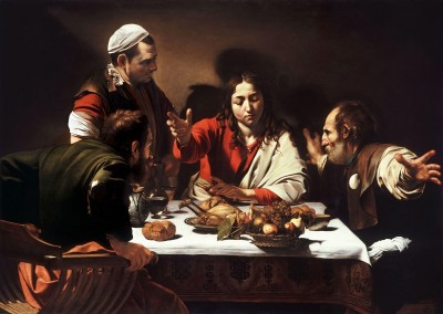The Supper at Emmaus, c.1601, Oil on Canvas