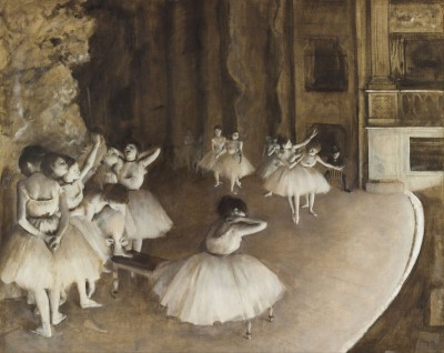 The Rehearsal Onstage, c.1874, Oil on Canvas