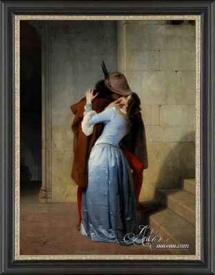 The Kiss, after Francesco Hayez