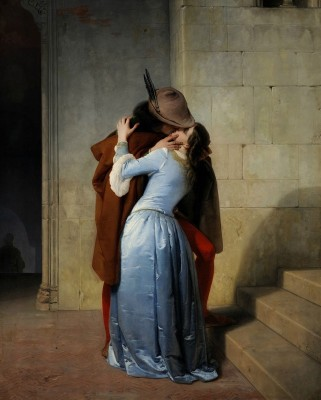 The Kiss, c.1859, Oil on Canvas