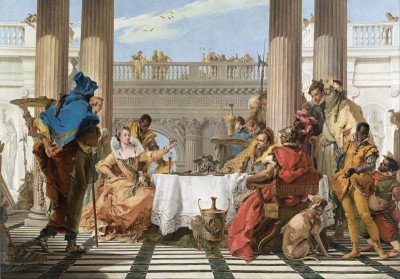 The Banquet of Cleopatra, c.1744, Oil on Canvas