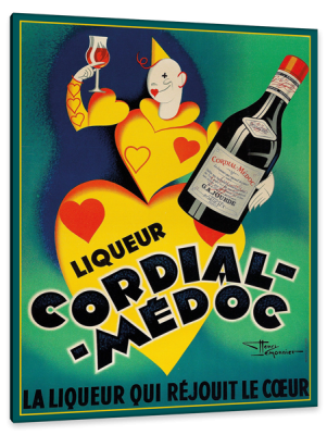 Cordial Medoc, c.1930, Lithograph on Fine Paper