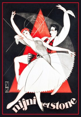 French Ballet, c.1930, Lithograph on Stone