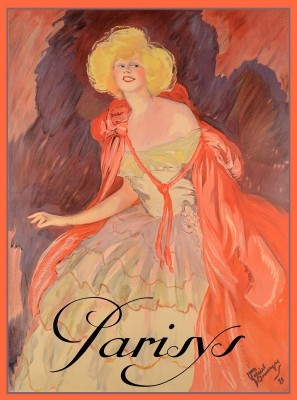 Parisys Champagne Advertising Poster, c.1920, Oil on Canvas