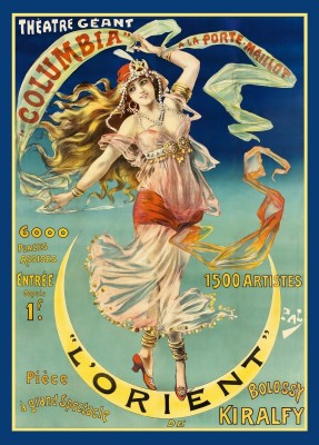 Theater Geant Poster, c.1899, Lithograph on Fine Linen