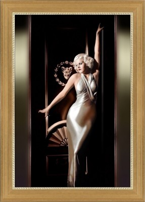 Vintage Hollywood Photograph of Jean Harlow