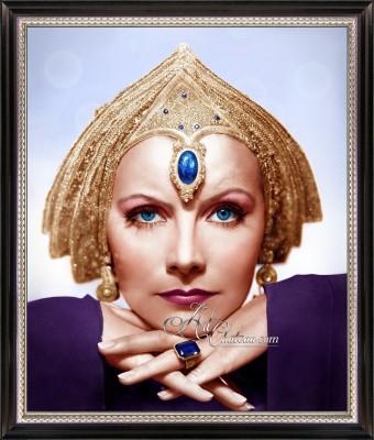 Vintage Photo of Greta Garbo as Mata Hari