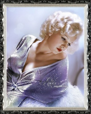 Vintage Hollywood Photograph of Jean-Harlow