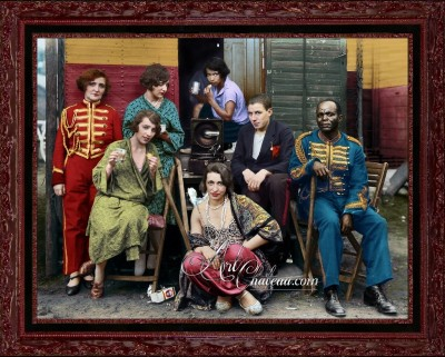Vintage Photo of Circus Artistes, after August Sander
