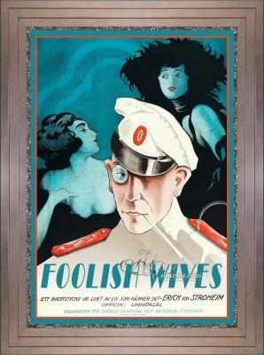 Vintage Style Movie Poster, starring Erich von Stroheim