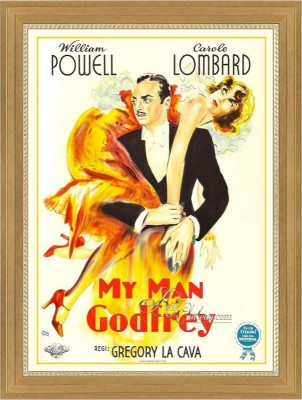 Vintage Movie Poster, My Man Godfrey with Carole Lombard