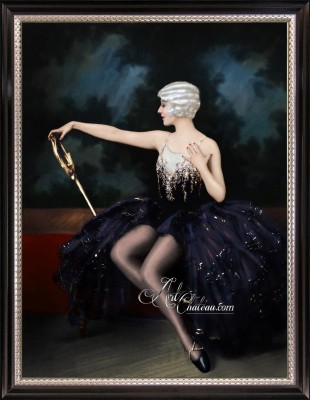 Ziegfeld Follies Girl Dorothy Stone, after Alfred Johnston