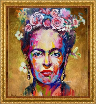Neo-Expressionist Painting, The Sunshine of Frida Kahlo