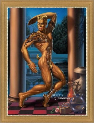 The Golden Faun, after George Quaintance