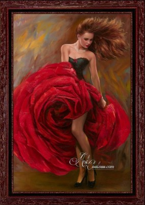 Andalusia Flamenco, Spanish Style Painting