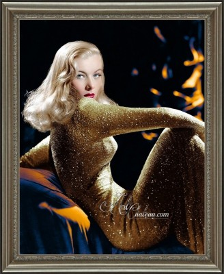 Vintage Art Deco Photo of Veronica Lake, after George Hurrell