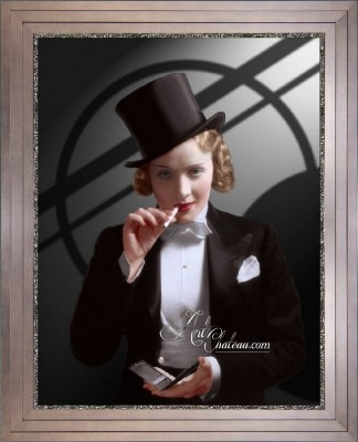 Vintage Style Hollywood Photo of Marlene Dietrich