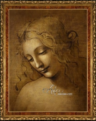 La Scapigliata after Painting by Leonardo da Vinci