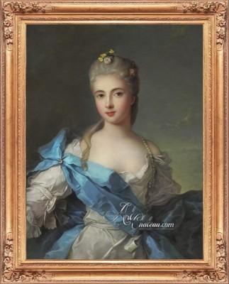Duchesse de la Rochefoucauld, after Jean Marc Nattier