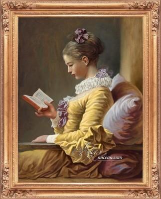 The Reader, after Empire Artist Jean Fragonard