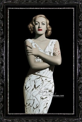 Vintage Hollywood Photograph of Joan Crawford