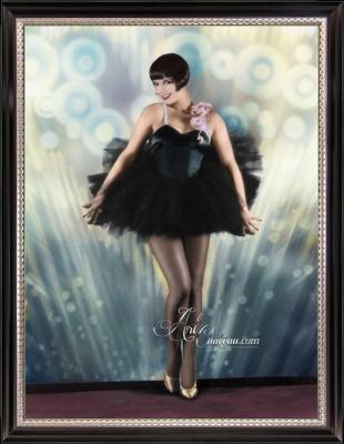 Vintage Art Deco Photograph of Louise Brooks