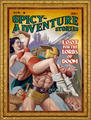 Spicy Adventure Stories, Loot for the Lords of Doom