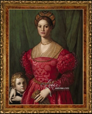 Lucrezia Panciatichi and Son, after Agnolo Bronzino