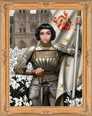 Saint Joan of the Trepidatious, from Pop-Artist Barrett Evon
