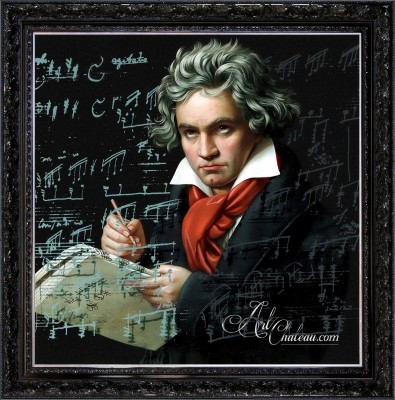 SoHo Interior Design, Ludwig van Beethoven Painting