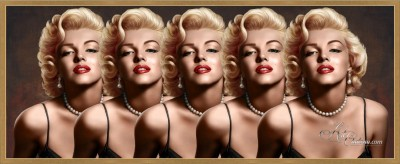 Midtown Atlanta Interior Design, Marilyn Monroe Pop-Art